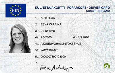 Kuljettajakortti