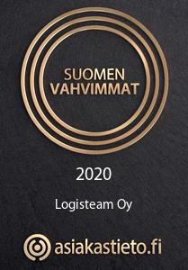 Suomen Vahvimmat 2020 Logisteam Oy